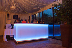 Lighted Counter Bar
